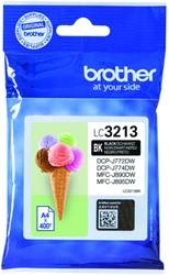 Inktcartridge Brother LC-3213 zwart HC