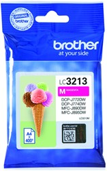 Inktcartridge Brother LC-3213 rood HC