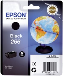 Inktcartridge Epson 266 T2661 zwart