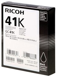 Gelcartridge Ricoh 405761 GC-41K zwart