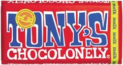 Chocolade Tony's Chocolonely reep 180gr melk