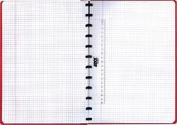 Schrift Adoc Classic A4 ruit 5x5mm 144blz 90gr assorti