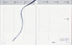 Agenda 2021 Brepols Timing 7dag/2pagina's Nederlands bordeau