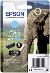 Inktcartridge Epson 24XL T2435 lichtblauw HC
