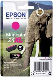 Inktcartridge Epson 24XL T2433 rood HC