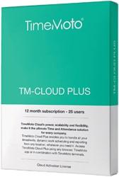 TimeMoto TM-CLOUD+ 25 user subscribtion