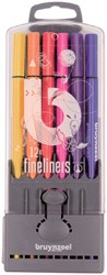 Fineliner Bruynzeel Teens 0,4mm ass