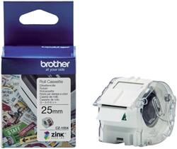 Labeletiket Brother CZ-1004 25mmX5m kleur opdruk
