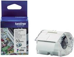 Labeletiket Brother CZ-1005 50mmX5m kleur opdruk