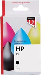 Inktcartridge Quantore HP 51645A 45 zwart