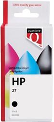 Inkcartridge Quantore HP C8727A 27 zwart