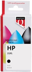 Inktcartridge Quantore HP C9351A 21XL zwart