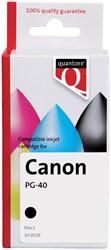 Inktcartridge Quantore Canon PG-40 zwart