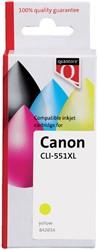 Inktcartridge Quantore Canon CLI-551XL geel