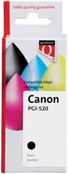 Inktcartridge Quantore Canon PGI-520 zwart + chip