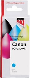 Inkcartridge Quantore Canon PGI-1500XL blauw HC