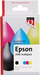 Inkcartridge Quantore Epson 29XL T299640 zwart 3 kleuren