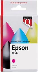 Inktcartridge Quantore Epson T061340 rood