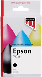 Inktcartridge Quantore Epson T071140 zwart