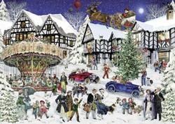 Puzzel Ravensburger Kerst 1000 stukjes