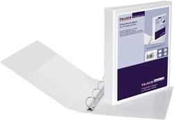 Presentatieringband Falken A4 4-rings D-mech 40mm wit