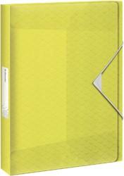 Documentenbox Esselte Colour'Ice 40mm geel