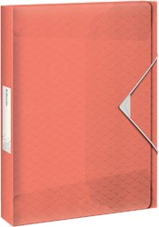 Documentenbox Esselte Colour'Ice 40mm perzik