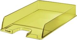 Brievenbak Esselte Colour'Ice geel