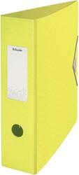 Ordner Esselte Colour'Ice 82mm PP geel
