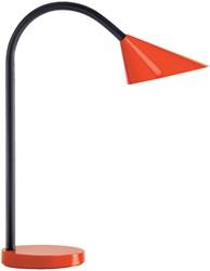 Bureaulamp Unilux Sol rood