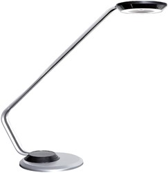 Bureaulamp Unilux Ulva aluminiumgrijs