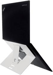 Ergonomische laptopstandaard R-Go Tools Riser attachable wit