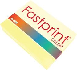 Kopieerpapier Fastprint A3 80gr kanariegeel 500vel