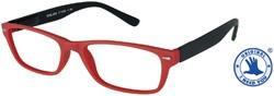 Leesbril +1.50 Feeling rood-zwart