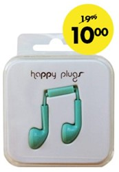 Headset Hama Happy Plugs Earbud kobaltblauw