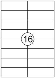 Etiket Quantore 105x37mm 400stuks