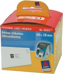 Avery etiketten voor labelprinters