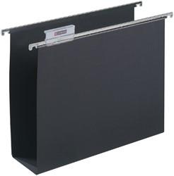 Hangmap Alzicht folio U-bodem 80mm zwart