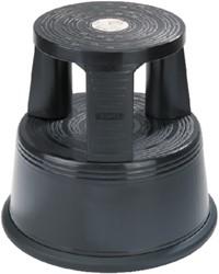 Opstapkruk Desq 42cm kunststof zwart