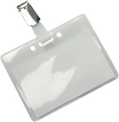 Badge Opus 2 met clip 60x90mm