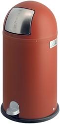 Afvalbak Wesco Kickboy rood 40liter