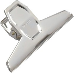 Papierklem Maul Pro 125mm capaciteit 30mm staal
