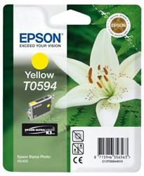 Inkcartridge Epson T0594 geel