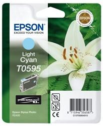 Inkcartridge Epson T0595 lichtblauw