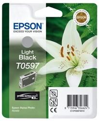 Inkcartridge Epson T0597 lichtzwart