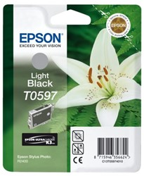 Inkcartridge Epson T059740 lichtzwart