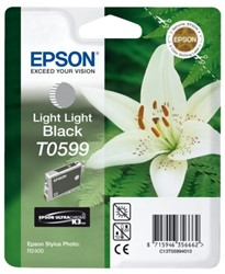 Inkcartridge Epson T0599 licht lichtzwart