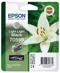 Inkcartridge Epson T059940 licht lichtzwart