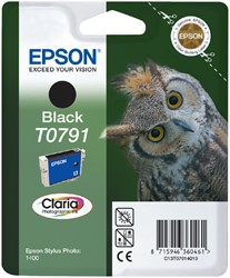 Inktcartridge Epson T0791 zwart