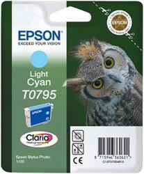 Inktcartridge Epson T0795 lichtblauw